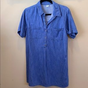 Large old Navy chambray dress